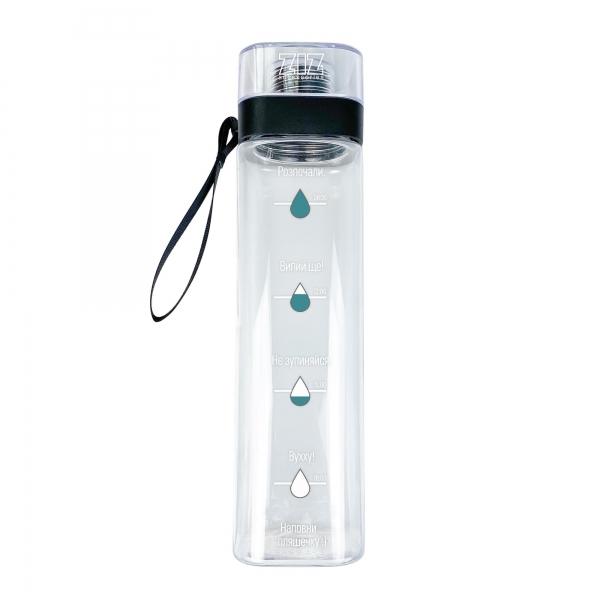 Бутылка для воды ZIZ Наполни
