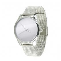 Часы ZIZ Минимализм на металлическом браслете (серебро)