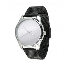 Часы ZIZ Минимализм на металлическом браслете (черный)