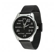 Часы ZIZ Математика на металлическом браслете