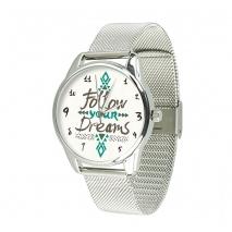 Часы ZIZ За своей мечтой на металлическом браслете