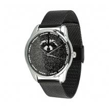 Часы ZIZ Енот на металлическом браслете