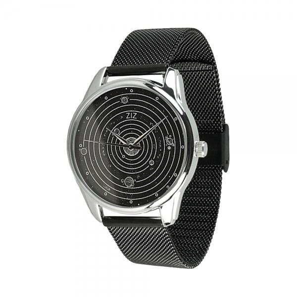 Часы ZIZ Планеты на металлическом браслете