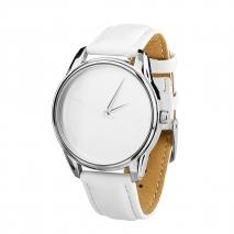 Часы ZIZ Минимализм  (белый, серебро)