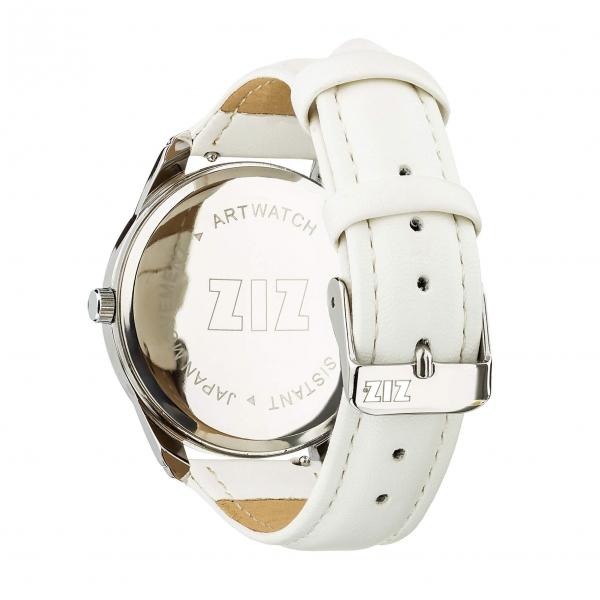 Наручные Часы ZIZ Минимализм  (белый, серебро)
