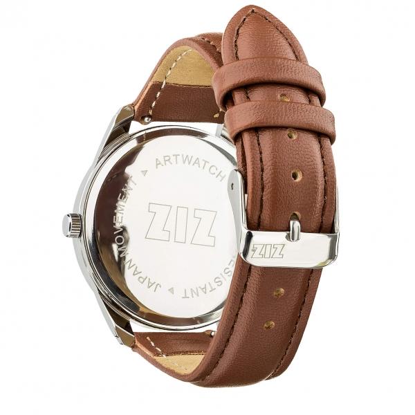 Наручные Часы ZIZ Минимализм (кофейный, серебро)