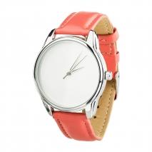 Часы ZIZ Минимализм (коралловый, серебро)