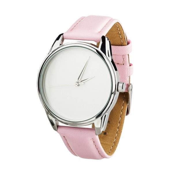 Часы ZIZ Минимализм (розовый, серебро)