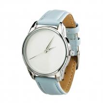 Часы ZIZ Минимализм (голубой, серебро)