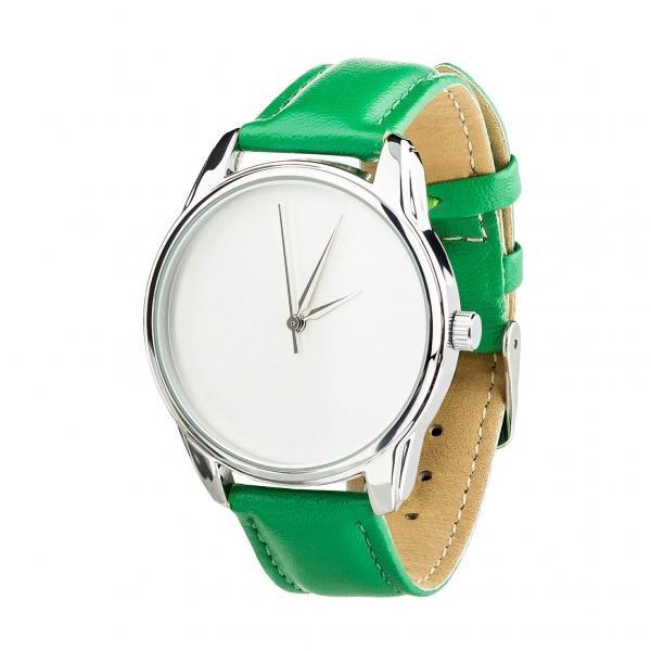 Часы ZIZ Минимализм (зеленый, серебро)