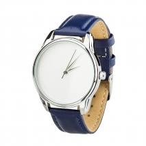 Часы ZIZ Минимализм (синий, серебро)