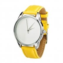 Часы ZIZ Минимализм (желтый, серебро)