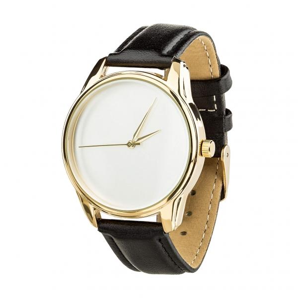 Часы ZIZ Минимализм (черный, золото)