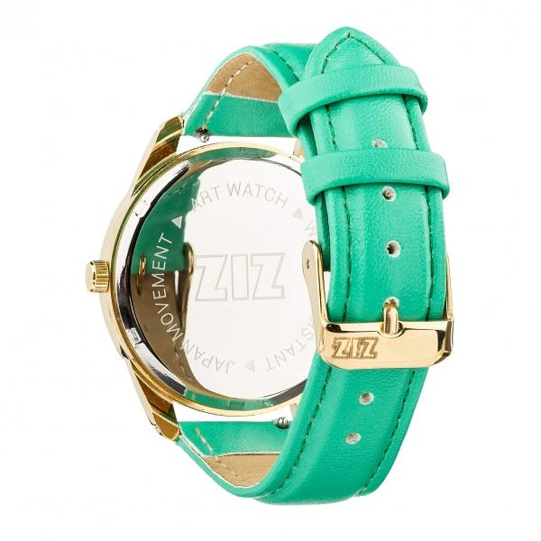 Наручные Часы ZIZ Минимализм (бирюзовый, золото)