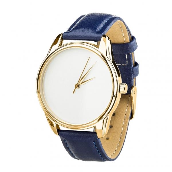 Часы ZIZ Минимализм (синий, золото)