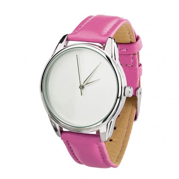Часы ZIZ Минимализм (малиновый, серебро)