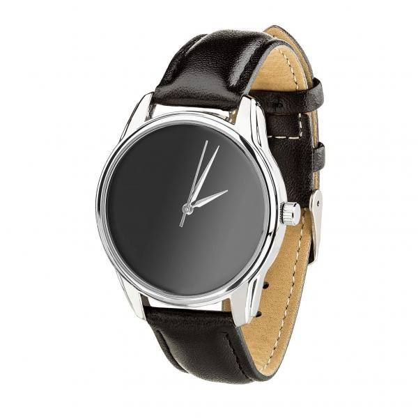 Часы ZIZ Минимализм черный (черный, серебро)