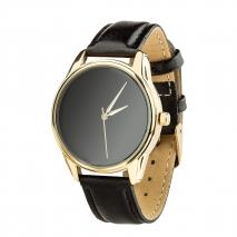Часы ZIZ Минимализм черный (черный, золото)
