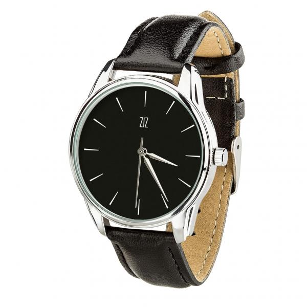 Часы ZIZ Белым по черному