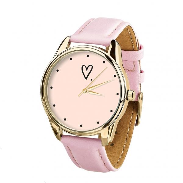 Часы ZIZ Сердечко (золото)