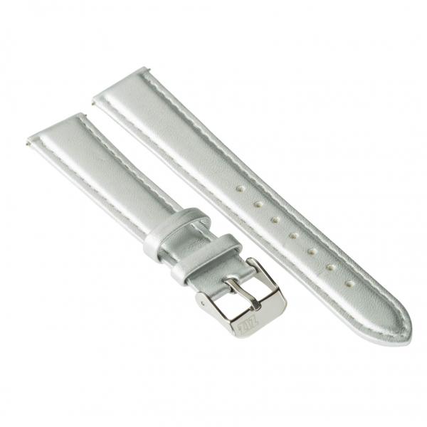 Ремешок для часов ZIZ (металлик, серебро)