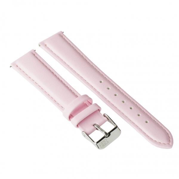 Ремешок для часов ZIZ (пудрово - розовый, серебро)
