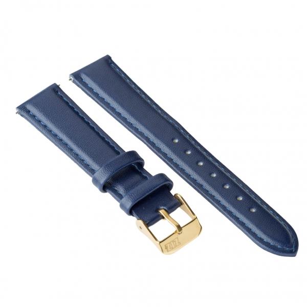 Ремешок для часов ZIZ (ночная синь, золото)