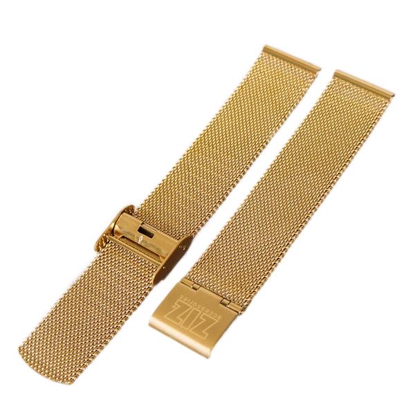 Браслет для часов ZIZ из нержавеющей стали (золото)