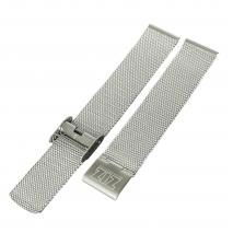 Браслет для часов ZIZ из нержавеющей стали (серебро)