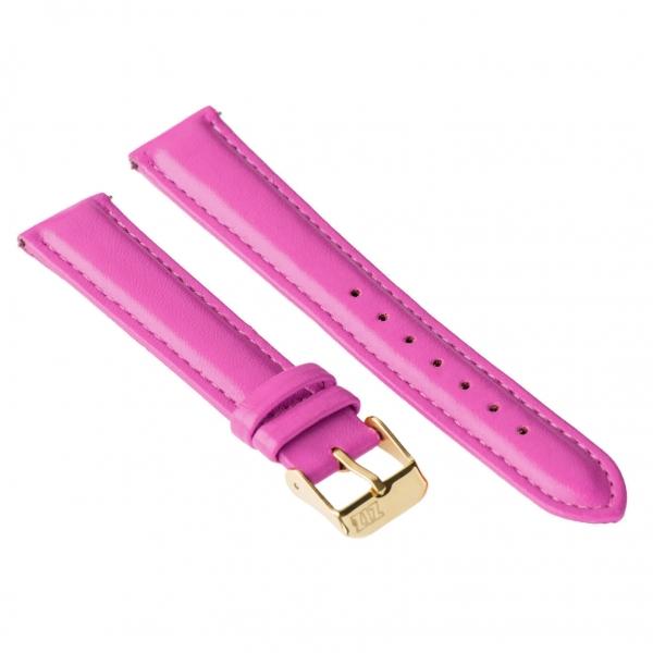 Ремешок для часов ZIZ (малиново - пурпурный, золото)