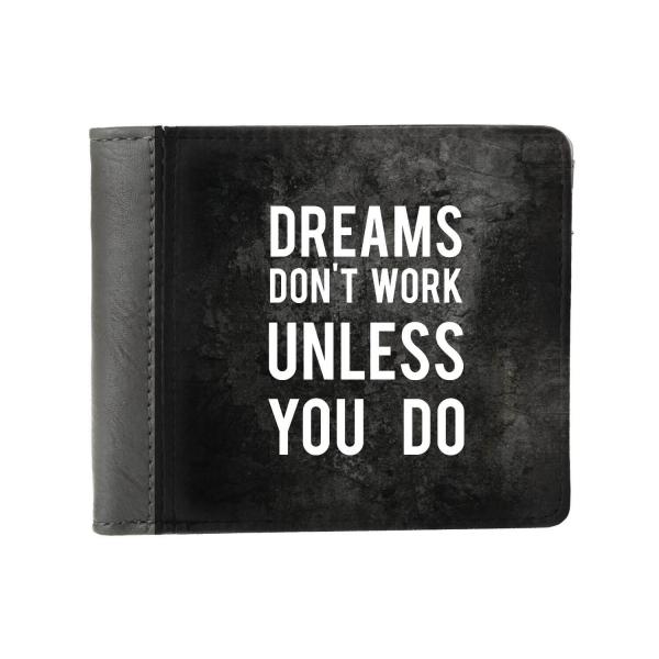 Кошелек ZIZ Мечты не работают, пока не работаешь ты