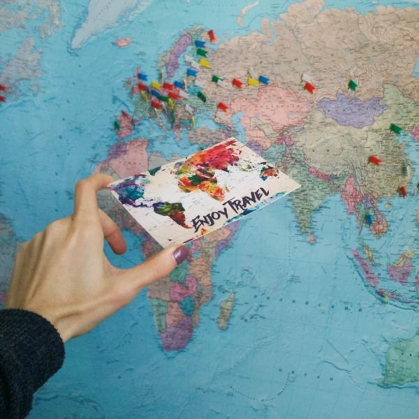 Открытка ZIZ Карта