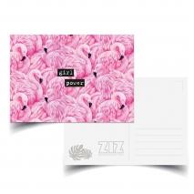 Открытка ZIZ Фламинго