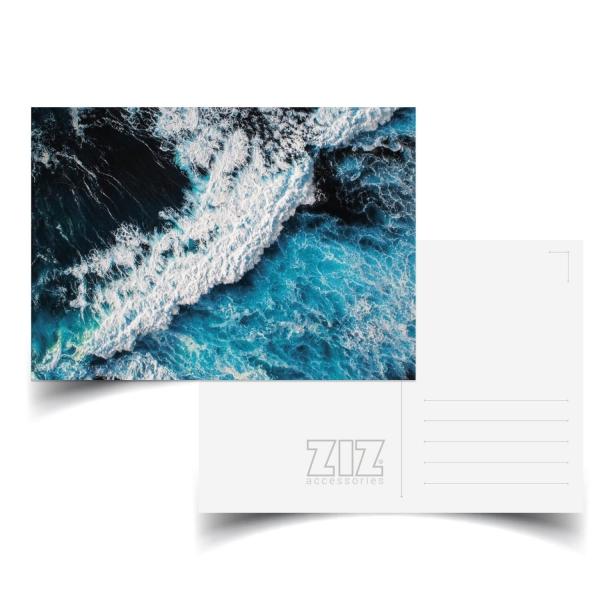 Открытка ZIZ Океаническая волна