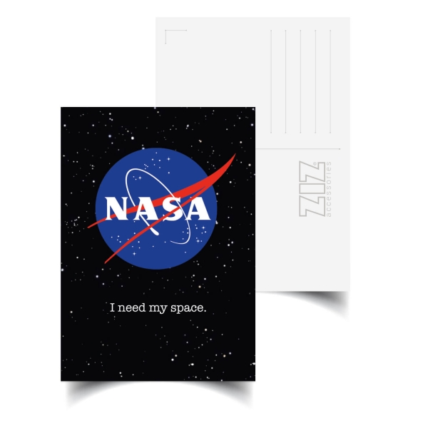 Открытка ZIZ НАСА