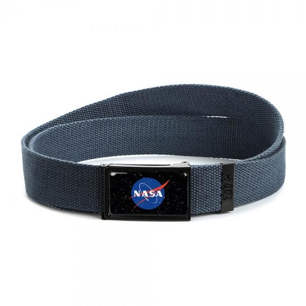 Ремень ZIZ НАСА синий