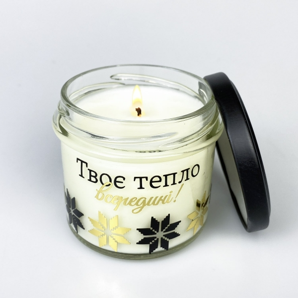 Свеча-крем ZIZ соевая Тепло